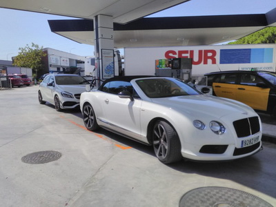 Bentley Rentals in Madrid